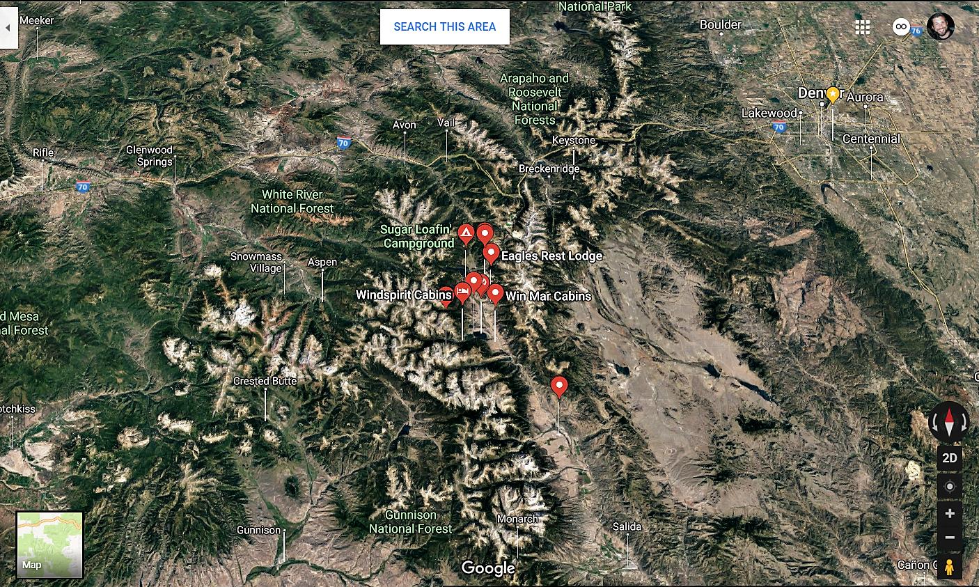 Twin Lakes Colorado Google Maps Real Estate Realtors and Mortgage Loans
