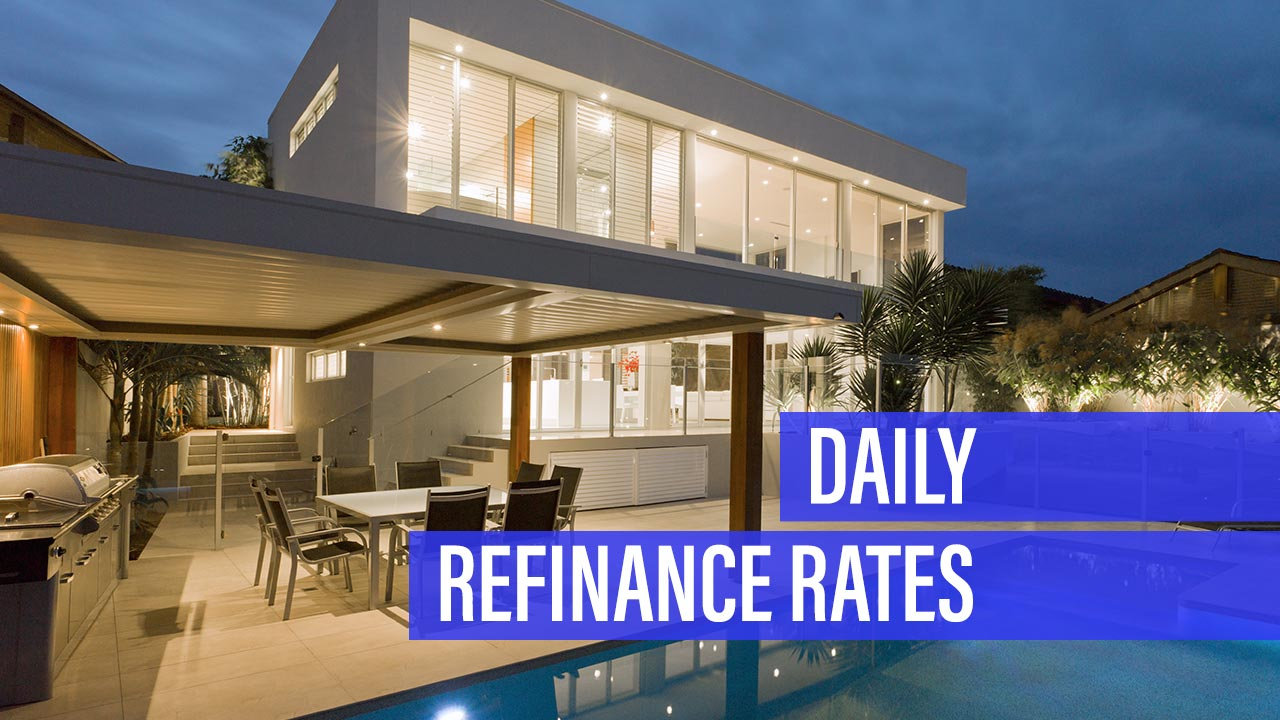 Daily Refinance Mortgage Rates