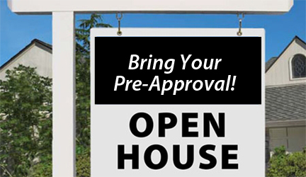 Open House TK Pre Approval Home Loan