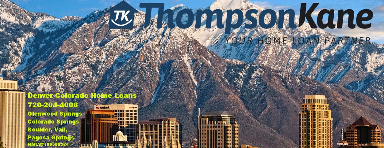 Denver and Madison Mortgage Leader John C. Thompson   Thompson Kane Mortgage Loans Colorado