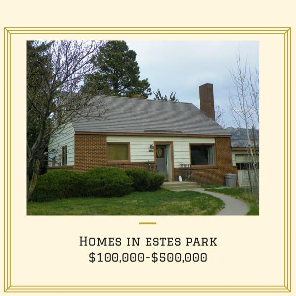 Homes in Estes Park $100,000-$500,000